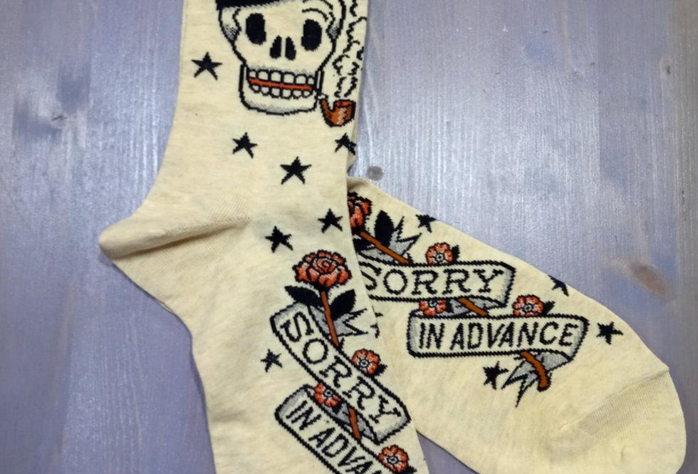 Sorry In Advance Socks