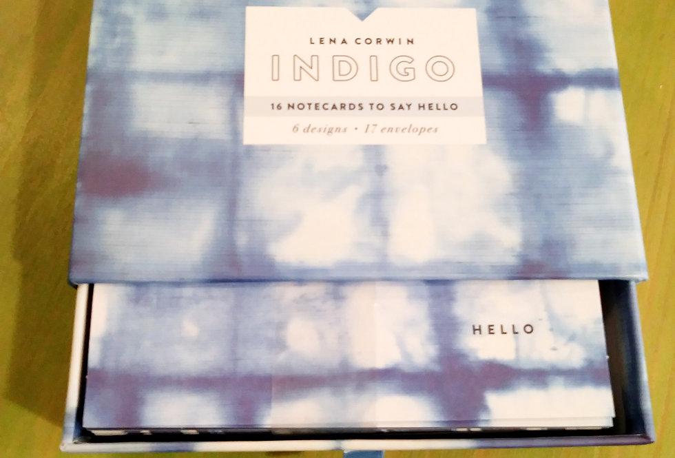 Indigo Notecards