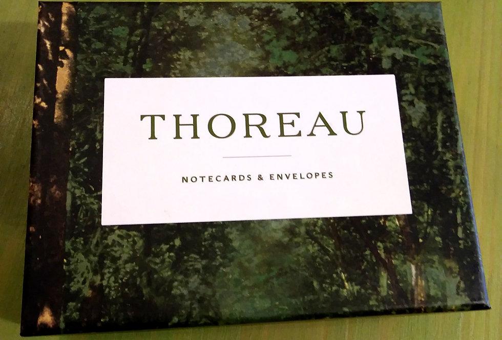 Thoreau Notecards