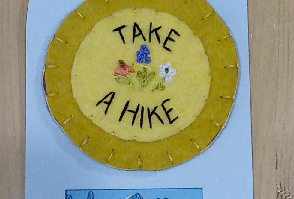 Take A Hike Patch