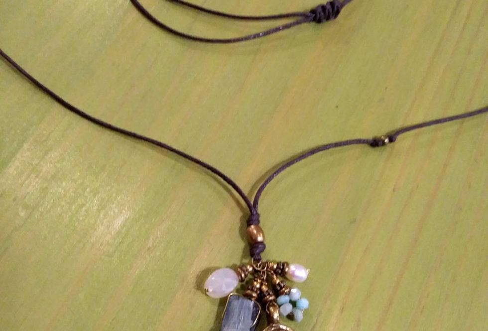 Kyanite Pendant Necklace