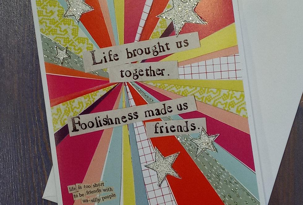 Foolishness Card