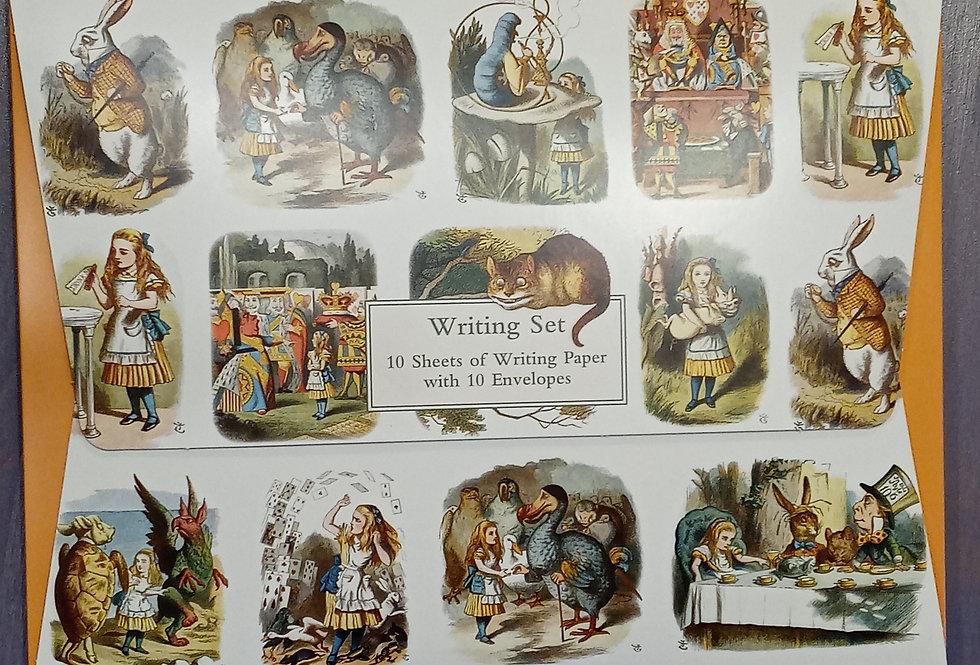 The Nursery Alice Writing Set