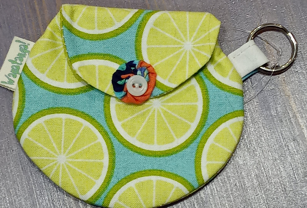Lime Slices Coin Purse