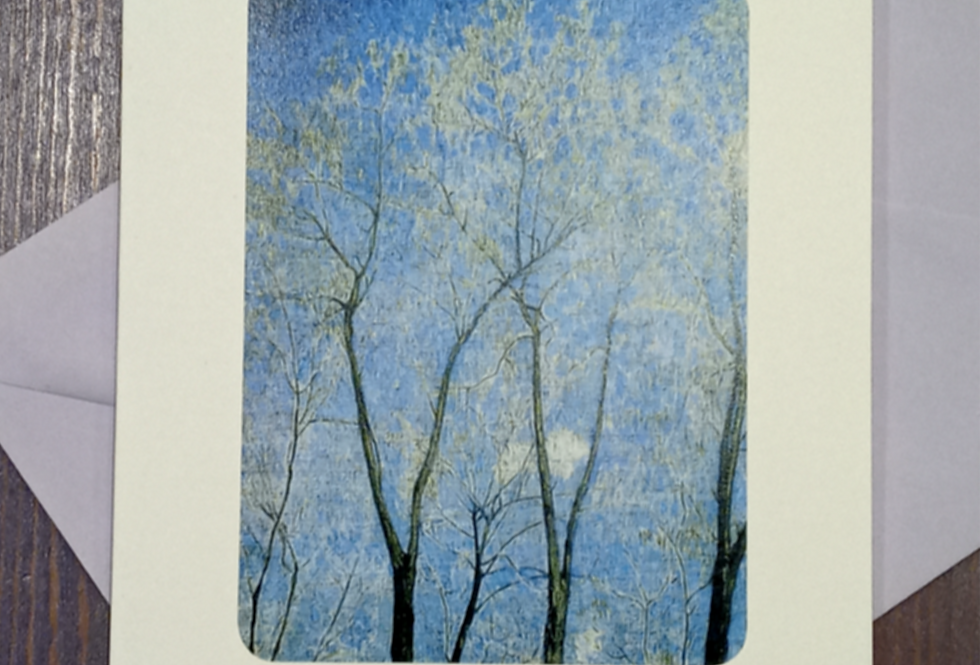 With Sympathy Card (trees)