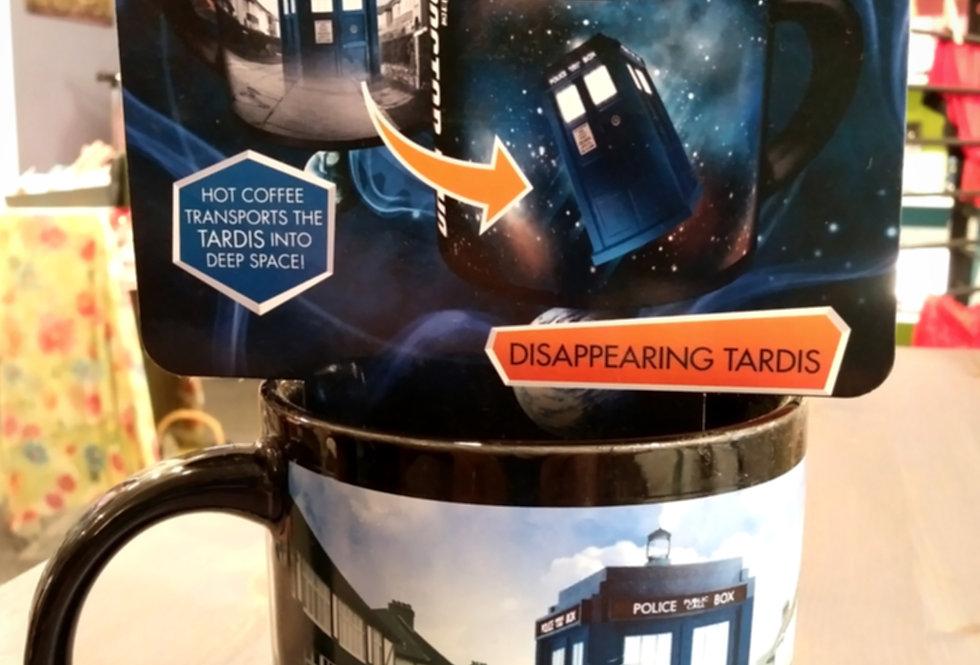 Doctor Who Disappearing Tardis Mug