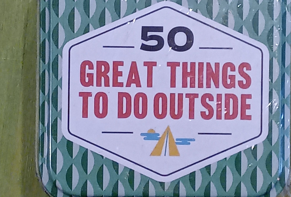 50 Great Things To Do Outside