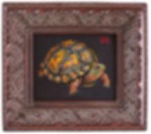 turtle painting julie read
