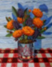 Flower painting Julie Read