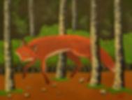 fox painting julie read
