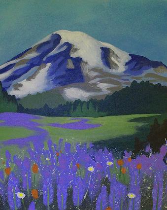 Julie Read Mt. Rainier