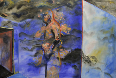 """Oil on Canvas 54"""" x 80"""" inches"""