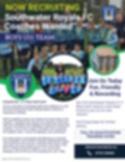 U11 Boys Head Coach Advert - Made with P