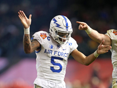 Top 10 Air Force Returning Players in 2020