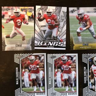 Lot of 7 Ohio State Buckeyes rookie cards -- JK Dobbins, Austin Mack, OSU