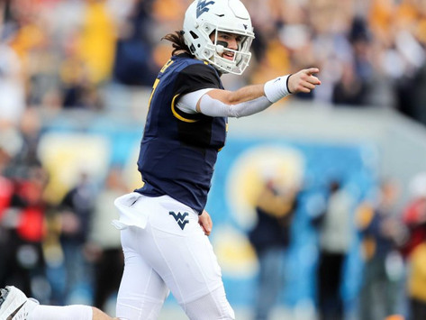 Will Grier on pace to break deep passing record