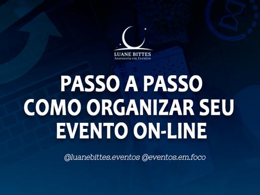 Dicas de como organizar um evento virtual.