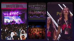 Festival Cultural - Bravas Brasil