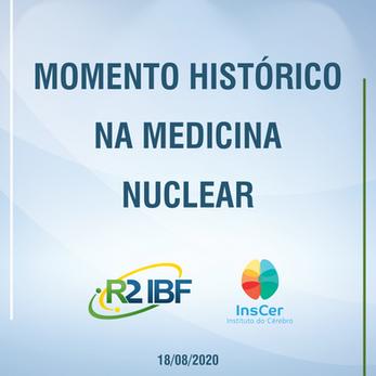 Primeira entrega de PSMA1007-(18 F) no Brasil.