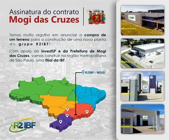 Construção da nova planta do grupo R2IBF