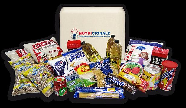 Nutricionale cesta de alimentos