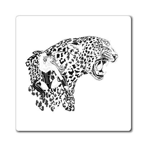 Phoenix the Jaguar Magnets