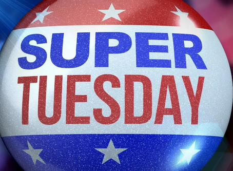 Super Tuesday: A Two-Donkey Race Taking On An Elephant
