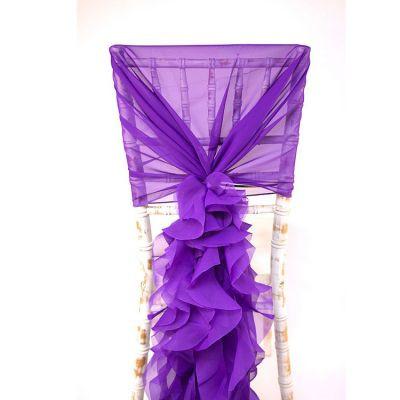 Chiffon Hood With Ruffles - Purple.jpg