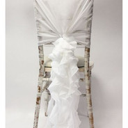 Chiffon Hood With Ruffles - White.jpg