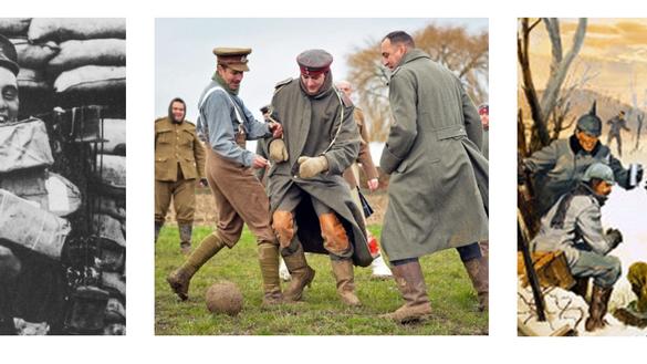 A trégua de 1914: Quando o Natal foi maior que a Guerra.