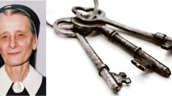 O molho de chaves da Irmã Iriema