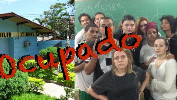 """Hoje era pra ser um dia normal, mas a """"mulecada"""" da ocupação das escolas estaduais não per"""