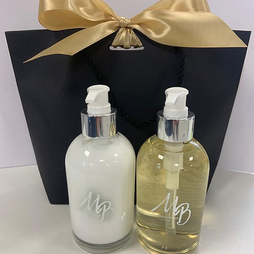 Luxury Hand & Body Wash/Lotion Gift Set