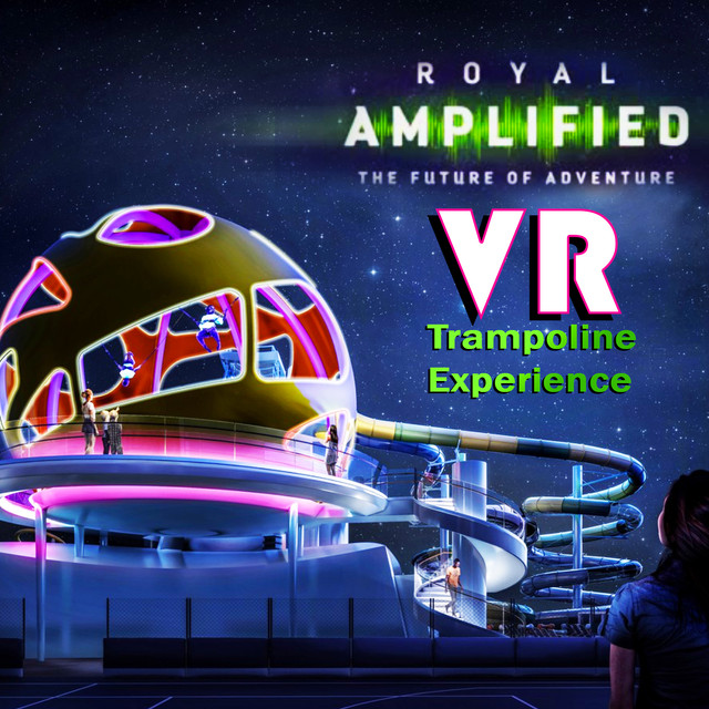 Sky Pad, Royal Caribbean's new VR trampoline experience