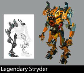 Legendary Stryder