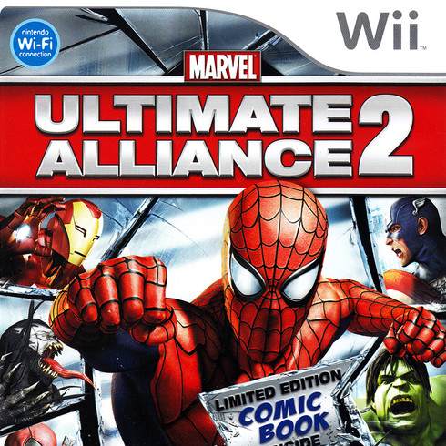MARVEL Ultimate Alliance 2 (Wii, DS, PSP) 2009