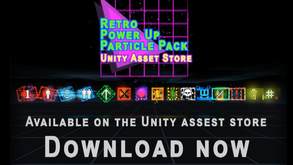 Retro Power Up Particle Pack (Unity Asset Store)