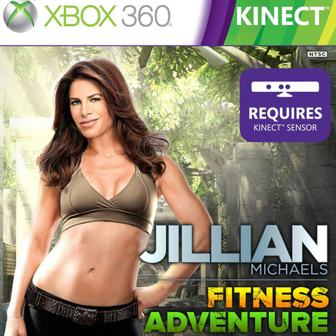 Jillian Michaels Fitness Adventure (XBOX 360) 2011