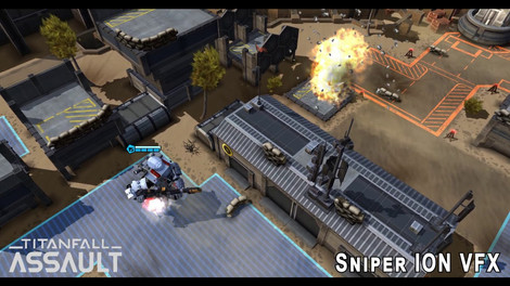 A sample of the VFX work I did for Sniper ION in Titanfall: Assualt