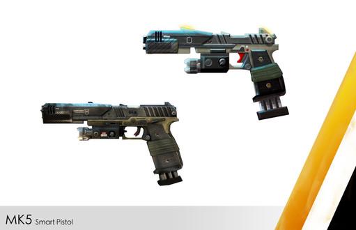 2D Concept MK5 Smart PistolE