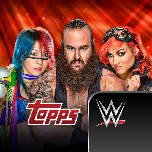 WWE SLAM (ios, Android) 2018/2019