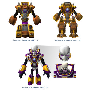 The Count's Power Armor Suits
