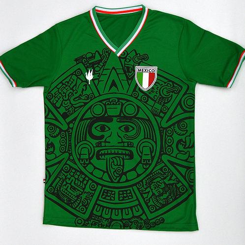 Playera Mexico Verde GARCIS RETRO Conmemorativa