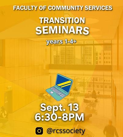 FCS Transition Seminars