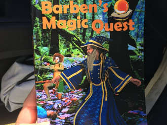 Book Launch - Barben's Magic Quest