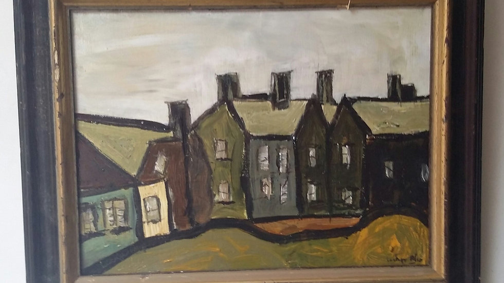 Workers Cottages by Lockyer Alsop