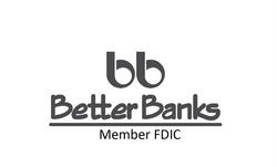 Better Banks Black Logo Vertical
