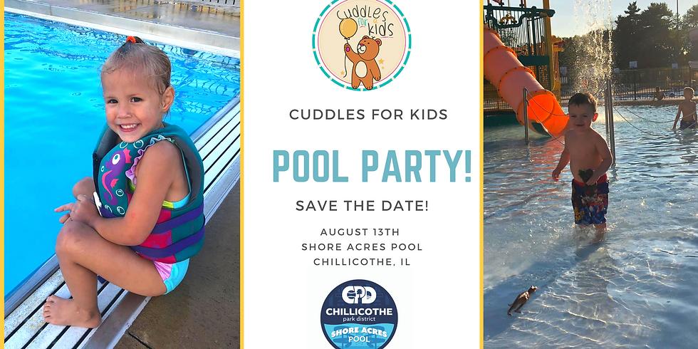Cuddles for Kids 4th Birthday Swim Party