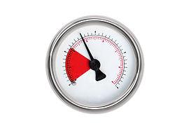 Measure equipment isolated o white backg