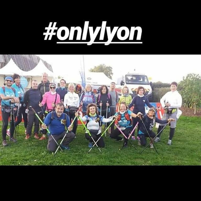 Nordic walkin' Lyon